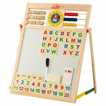 Bảng nam châm 2 mặt học chữ và số EDUCATION BOARD