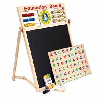 Bảng từ 2 mặt có bộ chữ cái và số cho bé cao cấp