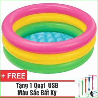 Bể Bơi Phao Cho Bé INTEX tròn - Loại 3 tầng 1m14 + Tặng 1 Quạt USB tiện dụng - 10280641 , NO007TBAA3FGALVNAMZ-6037676 , 224_NO007TBAA3FGALVNAMZ-6037676 , 359000 , Be-Boi-Phao-Cho-Be-INTEX-tron-Loai-3-tang-1m14-Tang-1-Quat-USB-tien-dung-224_NO007TBAA3FGALVNAMZ-6037676 , lazada.vn , Bể Bơi Phao Cho Bé INTEX tròn - Loại 3 tầng 1m14 + T