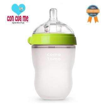Bình sữa Comotomo 250ml (Xanh) – Hàng phân phối chính thức  đơn giản