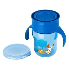 Bình tập uống 360 độ cho trẻ trên 12 tháng tuổi Philips Avent (Xanh)