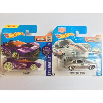 Bộ 2 xe mô hình Hot Wheels Set 31H: Chicane Và Porsche 356A Outlaw