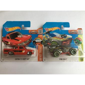 Bộ 2 xe mô hình Hot Wheels Set 33H: