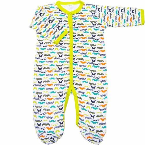 Bộ 3 áo liền quần liền vớ bé trai từ 3 đến 12 tháng Baby Gear (Mẫurâu)