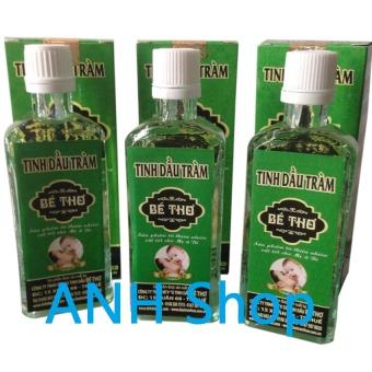 Bộ 3 Chai Tinh dầu tràm nguyên chất Bé Thơ 50ml_ANH Shop