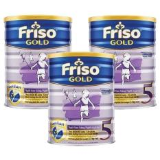 Bộ 3 hộp FRISO GOLD 5 1500g