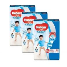 Bộ 3 tã dán Huggies Dry Super JumboXL62
