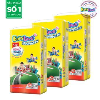B��� 3 T�� qu���n BabyLove PlayPants XL26 (12-17kg)- G��i 26 mi���ng