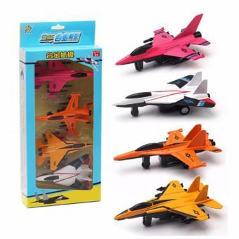 Bộ 4 máy bay mô hình cao cấp cho bé.