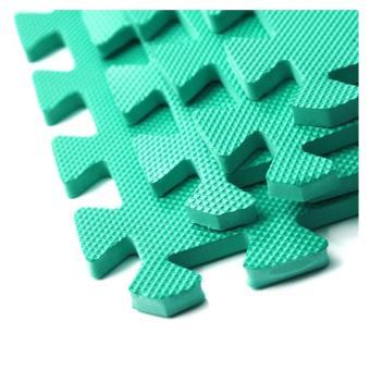 Bộ 4 tấm thảm chơi cho bé 60 x 60 x 1cm (Xanh lá) - 2