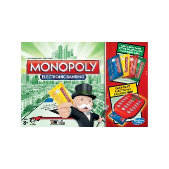 Bộ cờ tỷ phú Harbro Monopoly Electronic Banking Game
