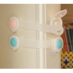 Bộ combo 10 dây đai khóa tủ lạnh, ngăn kéo bảo vệ an toàn cho bé, trẻ em BB06-KNT-D10