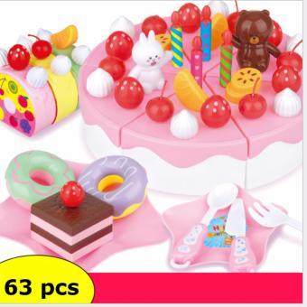 Bộ đồ chơi bánh sinh nhật 63 chi tiết