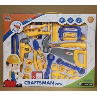 Bộ đồ chơi dụng cụ sửa chữa 25 món H38