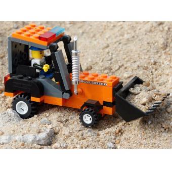 Bộ đồ chơi lego xếp hình Wange máy xúc - Xe công trường - 4
