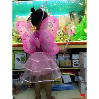 Bộ hóa trang cánh bướm thiên thần cho bé gái