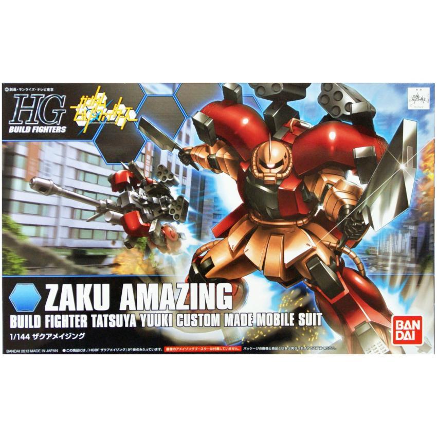 Hình ảnh Bộ lắp ráp Gundam 002 Zaku Amazing (HGBF) - Bandai 0184469