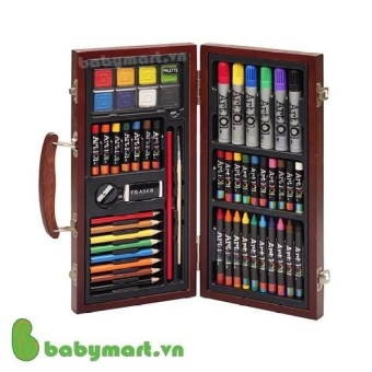 Bộ màu vẽ đa năng hộp gỗ Colormate M55 D030 - 8099216 , CO084TBAA5D5RAVNAMZ-9862885 , 224_CO084TBAA5D5RAVNAMZ-9862885 , 246000 , Bo-mau-ve-da-nang-hop-go-Colormate-M55-D030-224_CO084TBAA5D5RAVNAMZ-9862885 , lazada.vn , Bộ màu vẽ đa năng hộp gỗ Colormate M55 D030