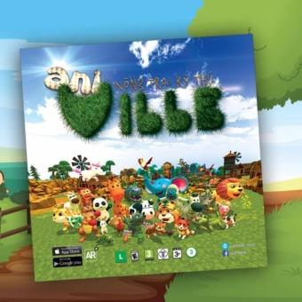 Bộ sách học tiếng anh 3D thông minh Ani Ville (Nông trại kỳ thú)NNN