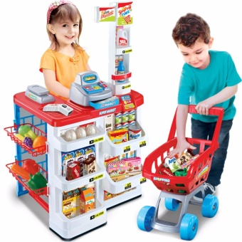 Bộ thu ngân xe đẩy siêu thị