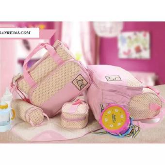 Bộ túi đựng đồ cho mẹ và bé 5 chi tiết( Hồng-chấm bi) - 8184259 , HO092TBAA1XXC3VNAMZ-3298939 , 224_HO092TBAA1XXC3VNAMZ-3298939 , 300000 , Bo-tui-dung-do-cho-me-va-be-5-chi-tiet-Hong-cham-bi-224_HO092TBAA1XXC3VNAMZ-3298939 , lazada.vn , Bộ túi đựng đồ cho mẹ và bé 5 chi tiết( Hồng-chấm bi)