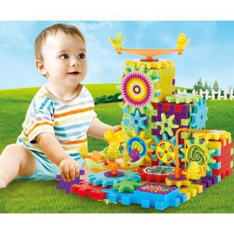 Bộ xếp hình chuyển động, phát triển tư duy sáng tạo Funny Kids F136(Đa màu sắc)