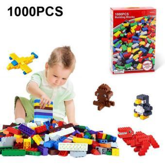 Bộ xếp hình Lego 1000 chi tiết sáng tạo thông minh cho bé