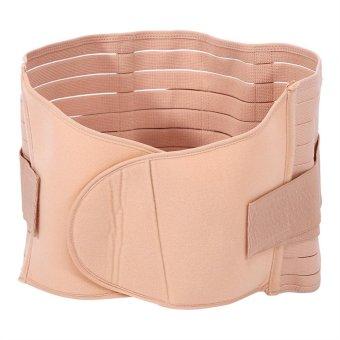 Body Shaping Girdle Abdominal Binder Maternity Shaper Belt(Apricot)- intl