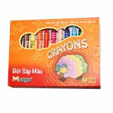 Giá bán Bút sáp màu Mango hộp 10 màu vẽ (Đỏ)