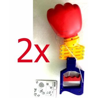 Combo 2 x Quả Đấm Lò Xo Tay Dài Robot Hand Arm Nhựa Cứng Bền RA02