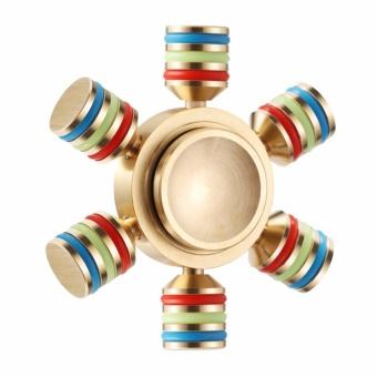 Con Quay Fidget Spinner 6 cạnh không ma sát xả stress