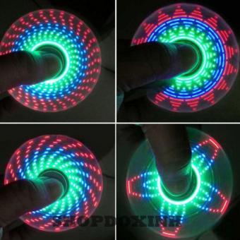 Con quay ma thuật spinner 18 kiểu đèn led