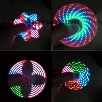 Con quay spiner có hiển thị nhiều hình led