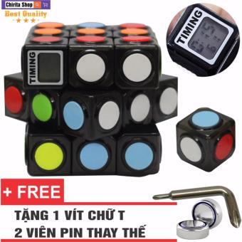 Đồ Chơi Phát Triển Trí Não Rubik 3x3 Có Đồng Hồ Bấm Giờ - CHIRITA2142