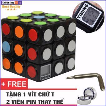 Đồ Chơi Phát Triển Trí Não Rubik 3x3x3 Có Đồng Hồ Bấm Giờ - CHIRITA2142