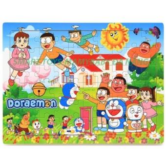 Doremon và các bạn ghép hình gỗ Smart Toys