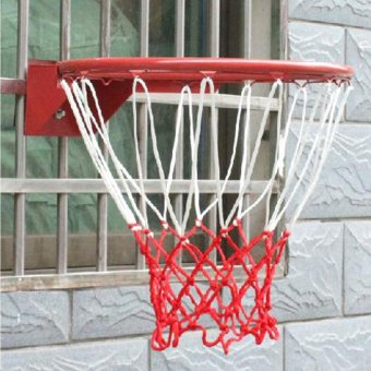 Durable Nylon Thick Thread Sports Basketball Rim Mesh Net 13 LoopsSport - intl