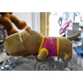 Gấu bông Chó Puco size nhỏ 50cm áo màu bất kỳ