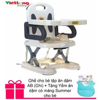 Ghế cho bé tập ăn dặm AB (Ghi) + Tặng Yếm ăn dặm có máng Summer chobé - 8345190 , NO007TBAA1VX3DVNAMZ-3194507 , 224_NO007TBAA1VX3DVNAMZ-3194507 , 1000000 , Ghe-cho-be-tap-an-dam-AB-Ghi-Tang-Yem-an-dam-co-mang-Summer-chobe-224_NO007TBAA1VX3DVNAMZ-3194507 , lazada.vn , Ghế cho bé tập ăn dặm AB (Ghi) + Tặng Yếm ăn dặm có má