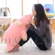 Gối ôm heo bông Nhật màu hồng dài 85cm-OHN85 (nhà bán hàng Diabrand)