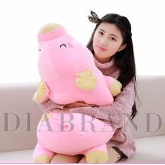 Gối ôm heo bông Nhật màu hồng dài 85cm-OHNDV85 (nhà bán hàng Diabrand)