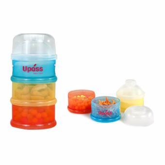 Hộp đựng sữa 3 ngăn không BPA Upass (Đài Loan) UP8001C