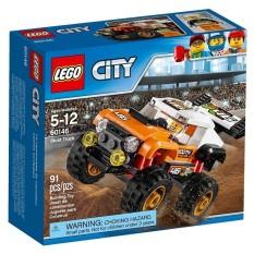 Hộp LEGO City 60146 Xe bốn bánh biểu diễn 91 chi tiết