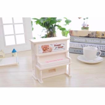Hộp nhạc Đồ chơi đàn Piano mini thích hợp làm món quà tặng đặc biệt