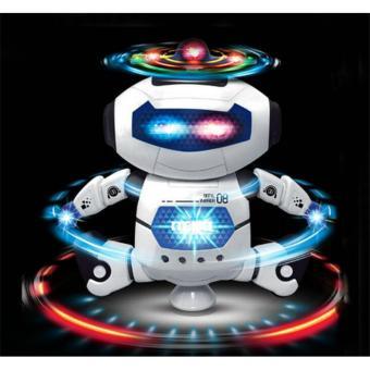 Robot đồ chơi biết nhảy múa phát nhạc dễ thương cho bé.
