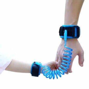 Dây đeo tay an toàn cho bé chống thất lạc (Màu xanh)