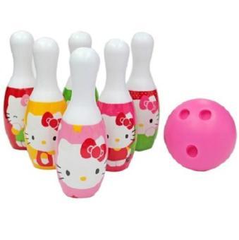 Đồ chơi Bowling - Trò chơi vận động, thi đấu cực hay cho các bé