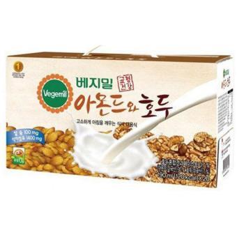 Sữa óc chó hạnh nhân Vegemil Hàn Quốc loại 24 hộp