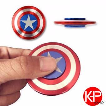 Con Quay Hand Spinner Nhôm American Captain - Fidget Spinner Hot 2017
