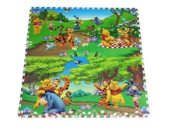 Thảm xốp trẻ em 4 miếng 60x60cm hoạt hình 5
